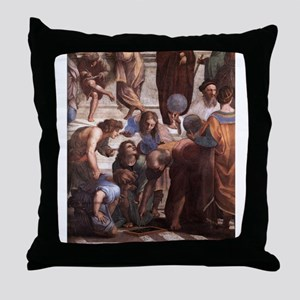 School of Athens (detail - Eu Throw Pillow