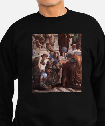 School of Athens (detail - Eu Sweatshirt (dark)
