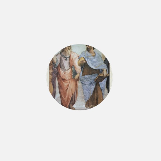 School of Athens (detail - Pl Mini Button