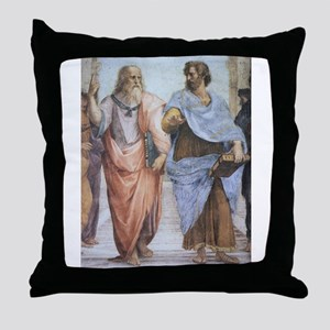 School of Athens (detail - Pl Throw Pillow