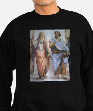 School of Athens (detail - Pl Sweatshirt (dark)