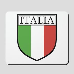 Italia Shield / Italy Flag Mousepad