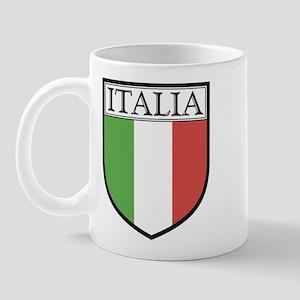 Italia Shield / Italy Flag Mug