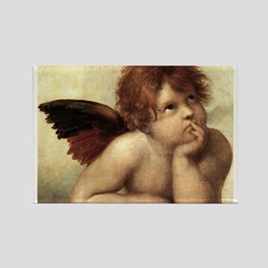 The Sistine Madonna (2nd deta Rectangle Magnet