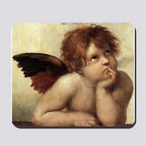 The Sistine Madonna (2nd deta Mousepad