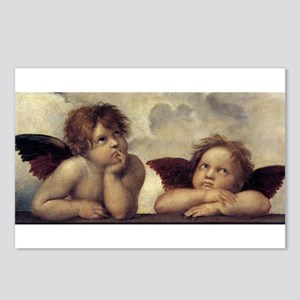 The Sistine Madonna (detail) Postcards (Package of