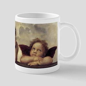 The Sistine Madonna (detail) Mug