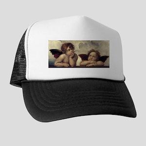 The Sistine Madonna (detail) Trucker Hat