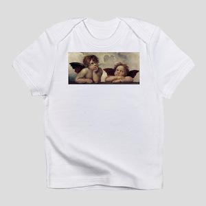 The Sistine Madonna (detail) Infant T-Shirt