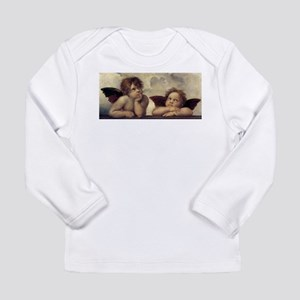 The Sistine Madonna (detail) Long Sleeve Infant T-