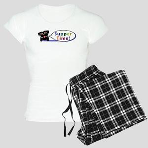 Suppertime Pug Women's Light Pajamas