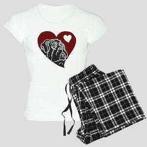 Love Pug Women's Light Pajamas
