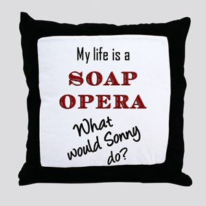 What Would Sonny Do? Throw Pillow