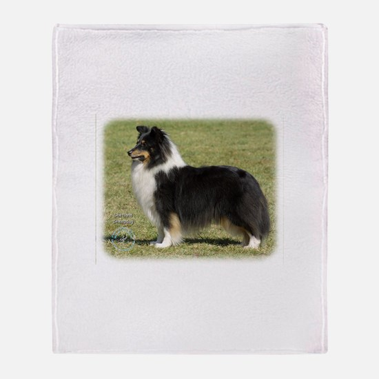Shetland Sheepdog 9J088D-06 Throw Blanket
