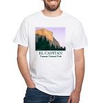 El Capitan at Sunset t-shirt--white