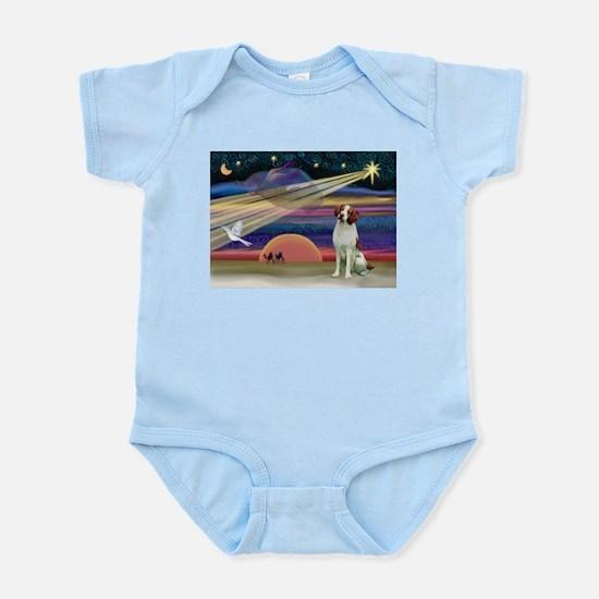 Xmas Star & Brittany Infant Bodysuit