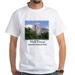 Half Dome in the Summer t-shirt--white