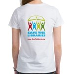 Women's T-Shirt, STL on back