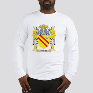 Tracy Family Crest - Coat of A Long Sleeve T-Shirt