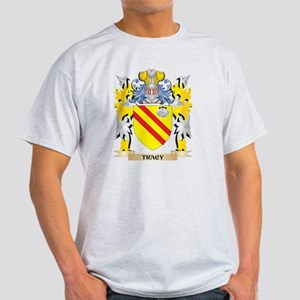 Tracy Family Crest - Coat of Arms T-Shirt