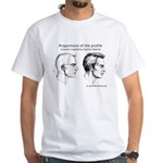 Portrait-artist.org's t-shirt in white!