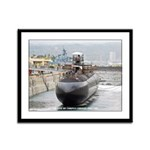USS CITY OF CORPUS CHRISTI Framed Panel Print