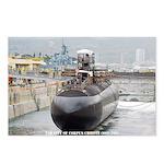USS CITY OF CORPUS CHRISTI Postcards (Package of 8