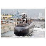 USS CITY OF CORPUS CHRISTI Large Poster