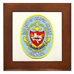 USS CITY OF CORPUS CHRISTI Framed Tile