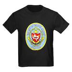 USS CITY OF CORPUS CHRISTI Kids Dark T-Shirt