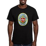 USS CITY OF CORPUS CHRISTI Men's Fitted T-Shirt (d