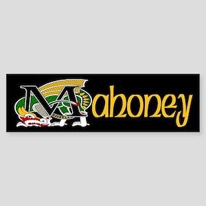 Mahoney Celtic Dragon Bumper Sticker