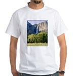 Yosemite Falls t-shirt--white