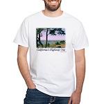 Calif. Highway One t-shirt--white