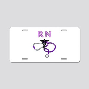 RN Nurse Medical Aluminum License Plate