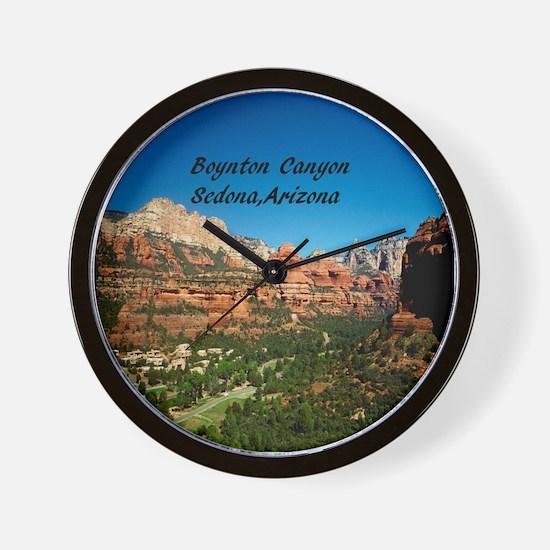 Boynton Canyon Wall Clock