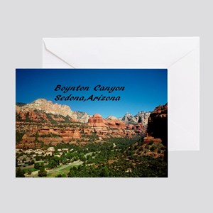 Boynton Canyon Greeting Card