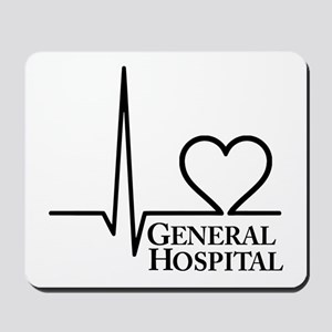 I Love General Hospital Mousepad