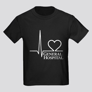 I Love General Hospital Kids Dark T-Shirt