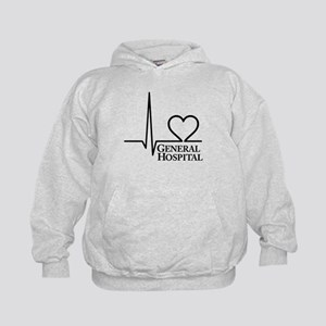 I Love General Hospital Kids Hoodie