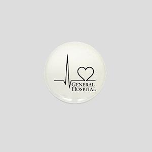 I Love General Hospital Mini Button