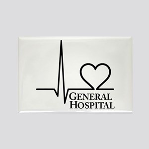 I Love General Hospital Rectangle Magnet