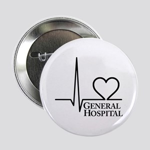 """I Love General Hospital 2.25"""" Button"""