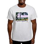 Calif. Highway One t-shirt--ash grey