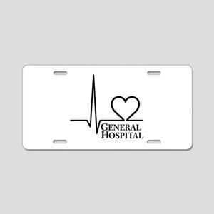 I Love General Hospital Aluminum License Plate