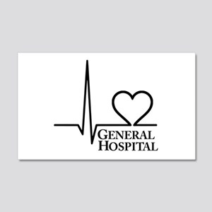 I Love General Hospital 22x14 Wall Peel