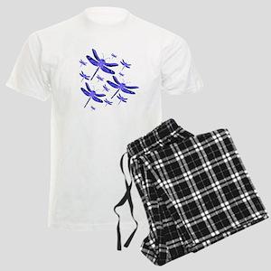 Dragonflies Men's Light Pajamas
