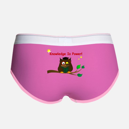 Wise Owl Women's Boy Brief