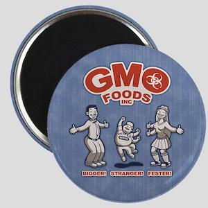 GMO Foods Magnet