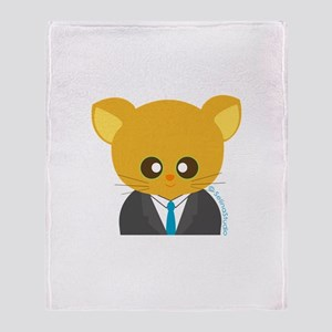 """""""career mousey 4"""" Throw Blanket"""